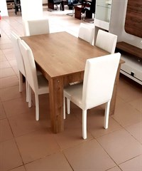 160x90 Dining Table 17mm-NG