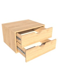 60 Cm 2 Drawer Set MFC