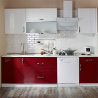 Cooke & Lewis Rose Pearl Built-in Modular Ready Kitchen Cabinet