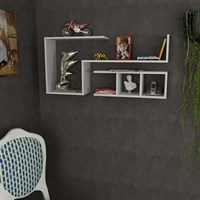 Decorister Finito Wall Shelf White