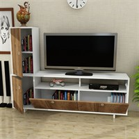 Dekorister Jasper Tv Unit White-Walnut