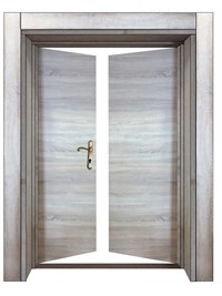 Elegant Double Door 210x20 TP
