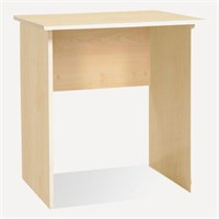 Minar Furniture Mini Work Table Maple