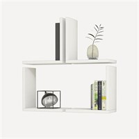 Minar Furniture Multi White Wall Shelf