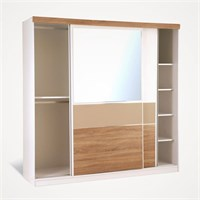 Sliding Mirror Wardrobe CR-01
