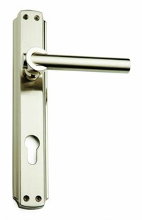 Tenor Saten Door Handle Set