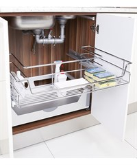 Under-Sınk Full Extensıon Drawer & Tandem Raıl 90D SC S-2352