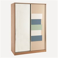 Wardrobe Magi with Sliding Mirror