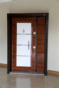 Zeus RVL-014 Double Steel Door